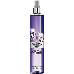 Relaxing Violet Mist Colonia 250ML EDT Mujer Benetton