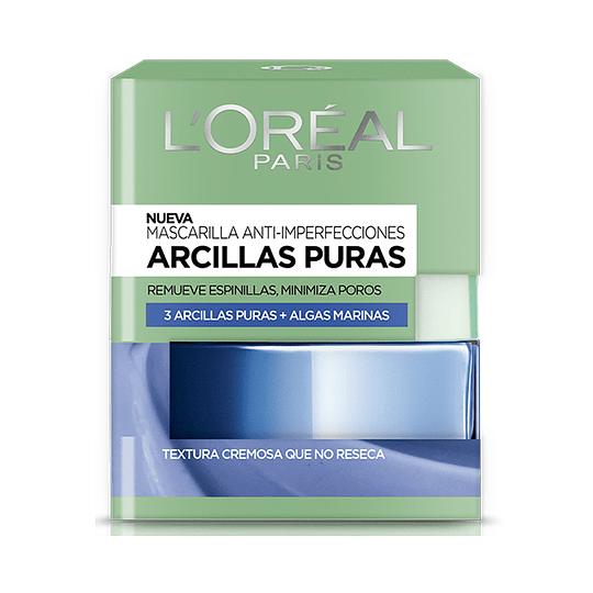 Mascarilla Anti Imperfecciones Arcillas Puras 50ml