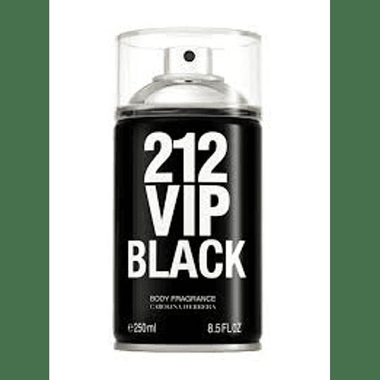 212 Vip Black Body Fragrance Hombre 250 Ml