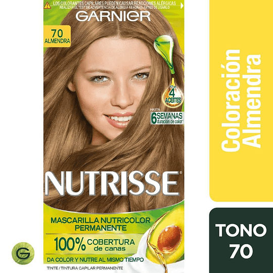 Nutrisse 70 Almendra 3 Aceites