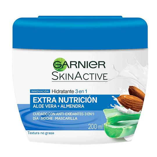 Crema Hidratante 3 En 1 Extra Nutrición 200Ml