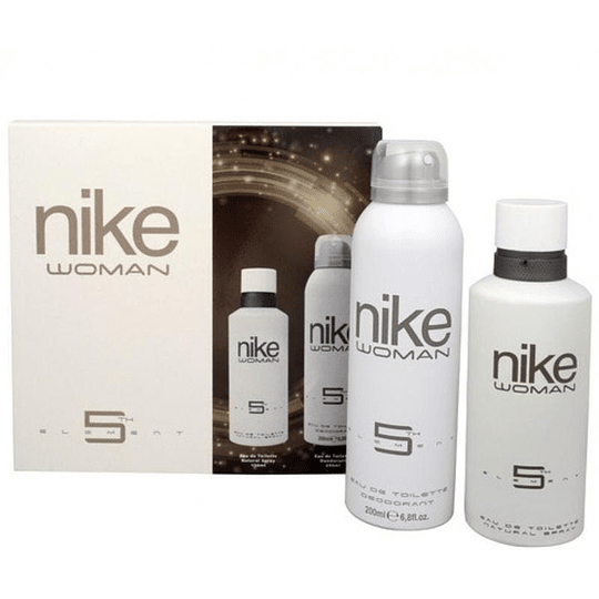 5Th Element Nike Woman Estuche 125ML EDT + Desodorante 200ML