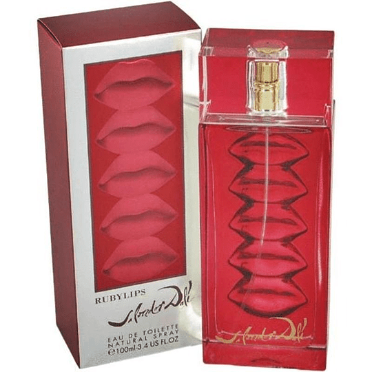 RubyLips 100ML EDT Mujer Salvador Dali