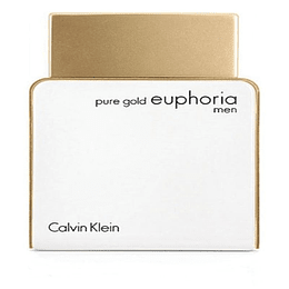 Pure Gold Euphoria Men 100ML EDP Hombre Calvin Klein