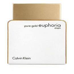 Pure Gold Euphoria Men 100ML EDP Hombre Calvin Klein