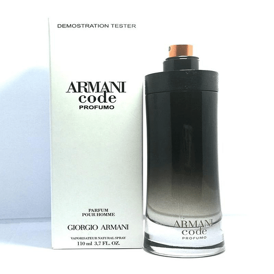 Armani Code Profumo Tester 60 ml EDP Hombre Armani