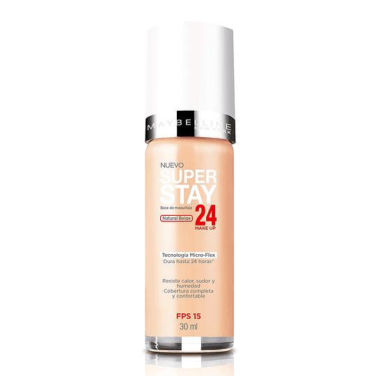 Base Maquillaje Superstay 24 Horas Natural Beige Maybelline