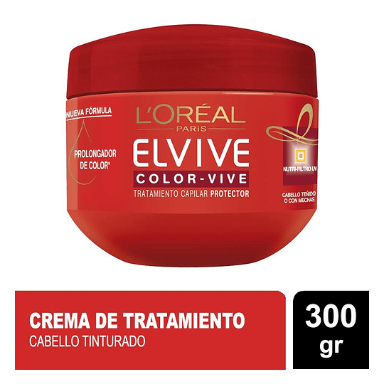 Mascara Elvive Color Vive 300 gr