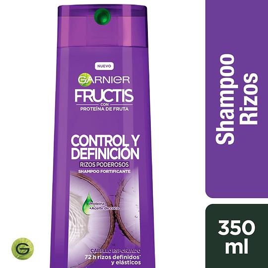 Fructis Rizos Ctrl Y Def Sh 350 ml