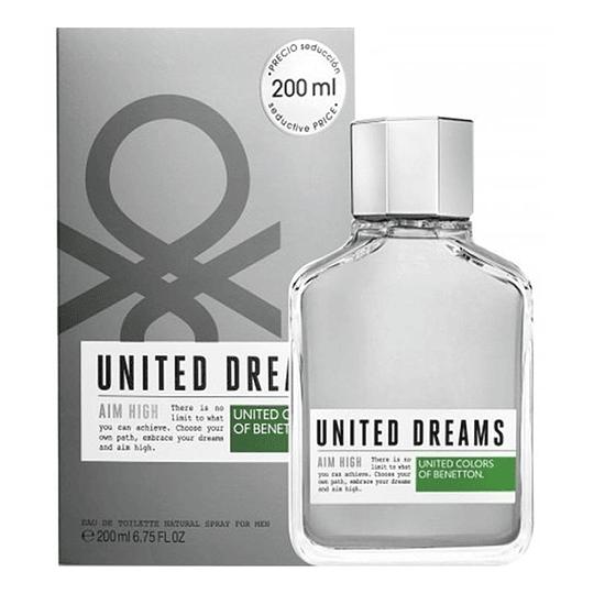 United Dreams Aim High 200ML EDT Hombre Benetton