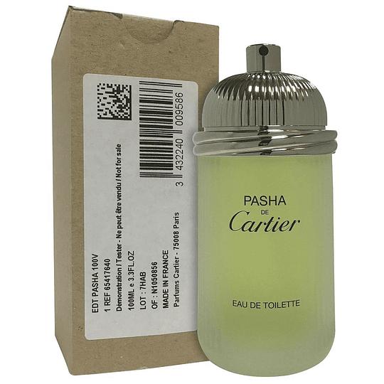 Pasha Cartier Edt 100Ml Hombre Tester