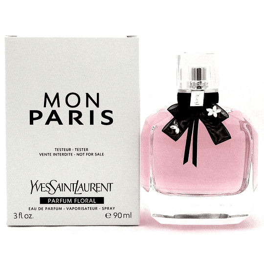 Mon Paris Ysl Parfum Floral Tester Edp 90 Ml