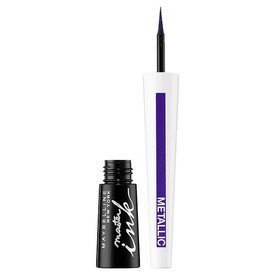 Delineador De Ojos Líquido Master Ink 10 Charcoal Black