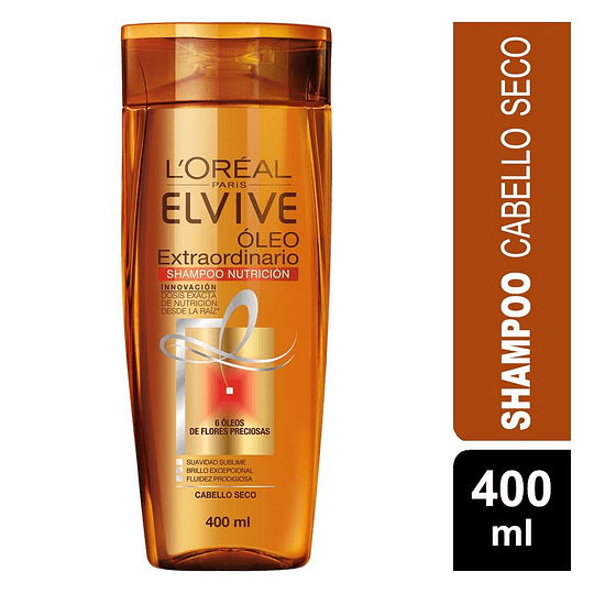 Elvive O.Extraord Nutr Univ Sh 400 ml