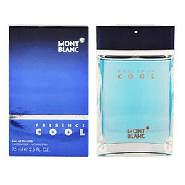 Presence Cool 75ML EDT Hombre Montblanc
