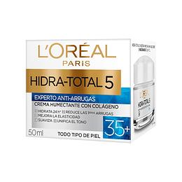 Crema Día Anti-Arrugas + 35 Hidra-Total 5 50ml L'Oréal Paris