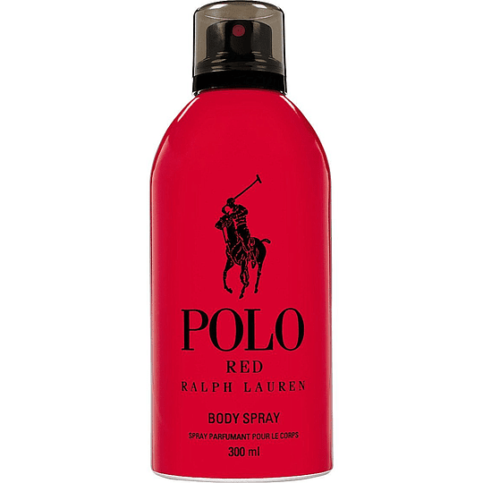 Polo Red Body Spray Parfumant 300 Ml
