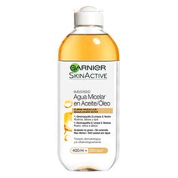 Agua Micelar En Óleo Skin Active 400 ml Garnier Skin Active