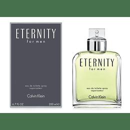 Eternity For Men Edt 200 Ml Hombre