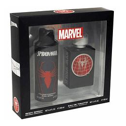 Spider-Man Set Edt 100ml+200mlBody Spray Hombre