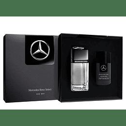 Estuche M. Benz Select Edt 100Ml+Deo 75Ml Hombre