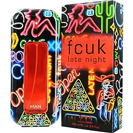 Fcuk Late Night Edt 100Ml Hombre