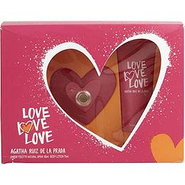 ESTUCHE LOVE LOVE LOVE EDT 80ML + BL 75 ml