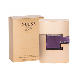 Guess Man Gold Edt 75ml Hombre