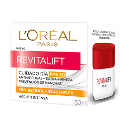 Crema Día Con Fps 30 Anti-Arrugas Revitalift 50ml
