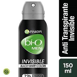 Desodrante Bi-O Spray Invis Bwc Hom 150 ml