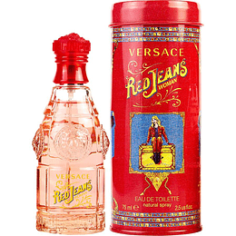 Red Jeans Versace Edt 75 Ml Mujer