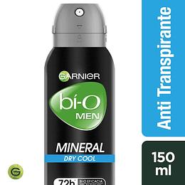 Desodrante Bi-O Spray Min Dry Cool Men 150 ml