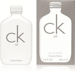 CK All 100ML  EDT Mujer Calvin Klein