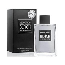 Seduction In Black 200ML EDT Hombre Antonio Banderas