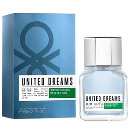 United Dreams Go Far 100ML EDT Hombre Benetton