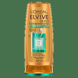 Elvive O.Extraordinario Curls Aco 400 ml