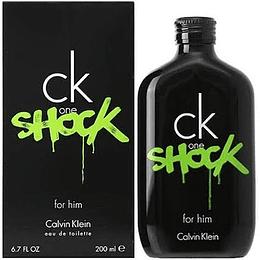 CK One Shock For Him 200ML EDT Hombre Calvin Klein