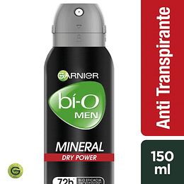 Desodrante Bi-O Spray Mineral Power Hom 150 ml