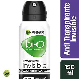 Desodrante Bi-O Spray Invisible Bwc Muj 150 ml