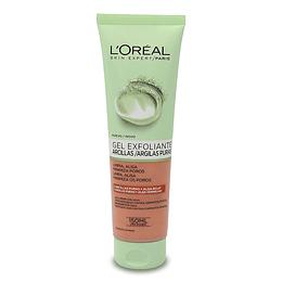 Gel Limpiador Exfoliante Arcillas Puras 150 Ml L'Oréal Paris