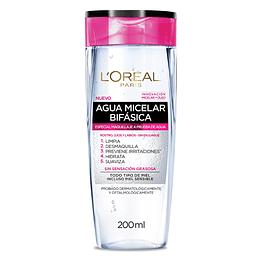 Agua Micelar Maquillaje Waterproof Hidra-Total 5 200Ml