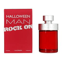 Halloween Man Rock ON EDT Hombre 125 Ml