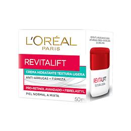 Crema Día Anti-Arrugas Textura Ligera Revitalift 50ml