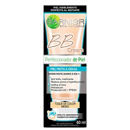 Bb Cream Piel Mixta A Grasa Tono Medio Garnier Skin Active