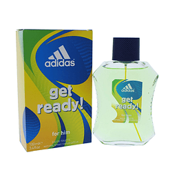 Adidas Get Ready Edt 100Ml Hombre