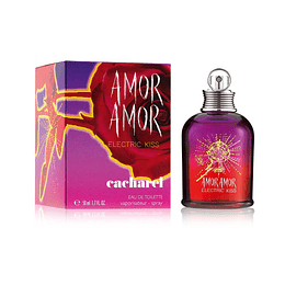 Amor Amor Electric Kiss Cacharel Edt 50Ml Mujer