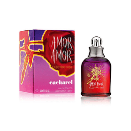 Amor Amor Electric Kiss Cacharel Edt 30 ml Mujer