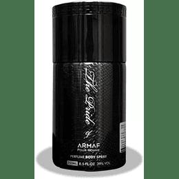 Armaf The Pride Negro 250 ml body spray Hombre