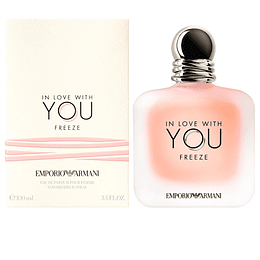 IN LOVE WITH YOU FREEZE ARMANI edp 100ml Mujer