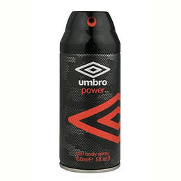 Umbro Power Body Spray 150Ml Deo Hombre .